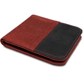 Chrome Nylon Bifold Wallet Brick/Black